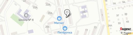 Детская библиотека №15 на карте Златоуста