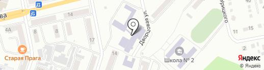 Южно-Уральский государственный университет на карте Златоуста