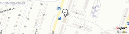 Магазин игрушек на карте Златоуста