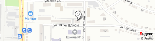 Парикмахерская эконом-класса на карте Златоуста
