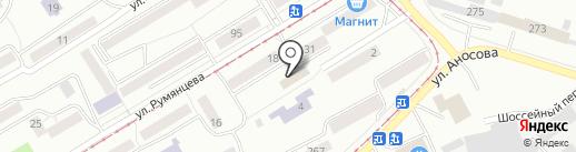 Пушкинское на карте Златоуста