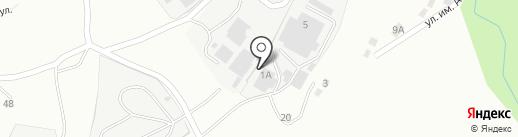 Лесоперерабатывающая компания на карте Златоуста