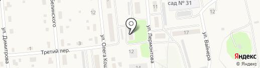 Почтовое отделение №151 на карте Билимбая