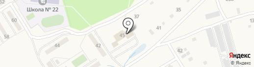 Билимбаевский центр недвижимости на карте Билимбая
