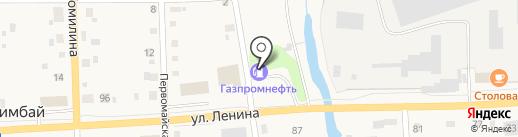 АЗС Газпромнефть-Урал на карте Билимбая