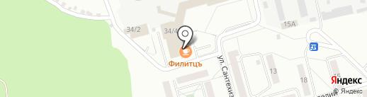 Профсталь на карте Первоуральска