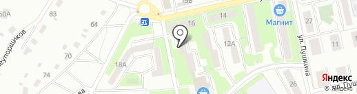 ЖЭУ №1 на карте Первоуральска