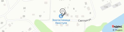 ХВОСТУЛЯ на карте Ревды