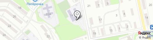 Средняя общеобразовательная школа №15 на карте Первоуральска