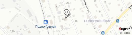 Магазин продуктов на карте Первоуральска