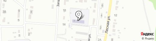 Детский сад №7 на карте Ревды