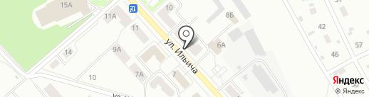 Почтовое отделение №3 на карте Первоуральска