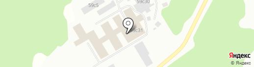 Строительный двор на карте Ревды