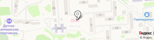 Горноуральская районная больница на карте Горноуральского