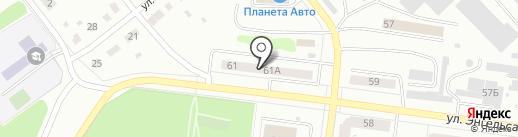 Почтовое отделение №3 на карте Ревды
