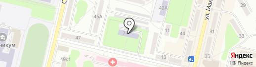 Детский сад №40 на карте Ревды