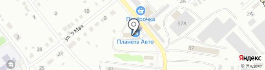 Планета Авто на карте Ревды