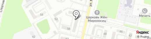 Линда на карте Ревды
