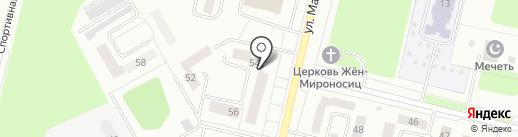 Золотой колос на карте Ревды