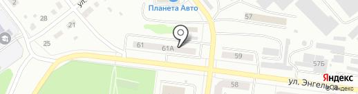 Диваныч на карте Ревды
