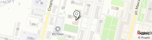 ДЮСШ на карте Ревды