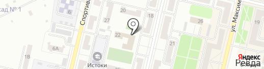 Шахматный клуб на карте Ревды