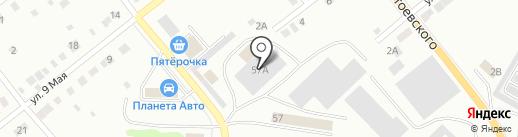 Автоцентр на Энгельса на карте Ревды