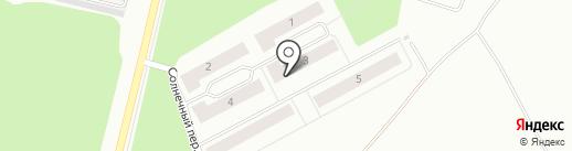 Демидовский на карте Ревды