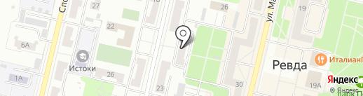 Домосед на карте Ревды