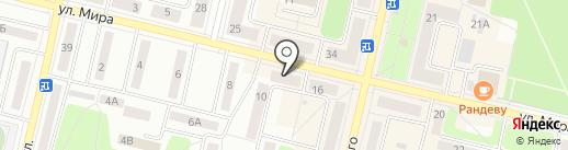 Кристель на карте Ревды