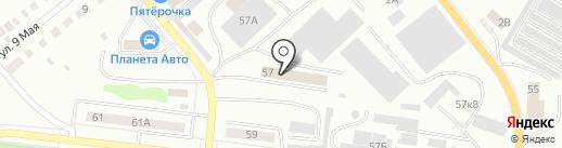 Заварницын и Компания на карте Ревды