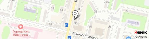 Медовая горница на карте Ревды