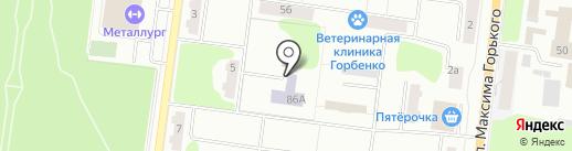 Специализированный дом ребенка №3 на карте Ревды