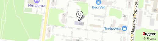 Специализированный дом ребенка №4 на карте Ревды