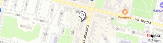 Трилайн на карте Ревды