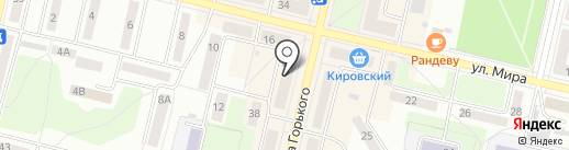 Нега на карте Ревды