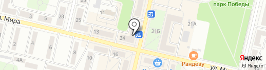РозаМаркет на карте Ревды