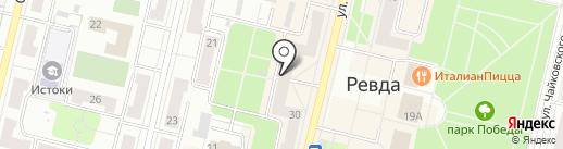 Банкомат, Росгосстрах Банк на карте Ревды