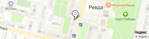 Почтовое отделение №6 на карте Ревды