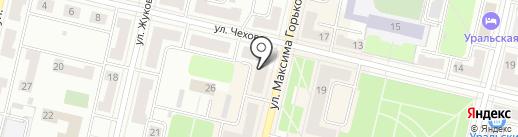 Участковый пункт полиции на карте Ревды