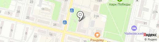 Фламинго на карте Ревды
