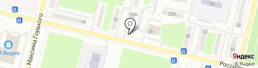 Бэби Бум на карте Ревды
