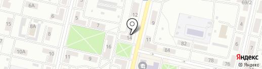Круг на карте Ревды