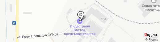 Красное Знамя на карте Ревды