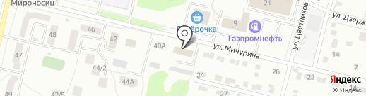 Проммет на карте Ревды