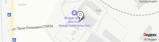 ТЭСКОН на карте Ревды