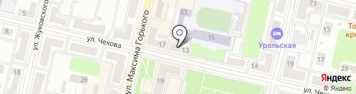 Мяско на карте Ревды