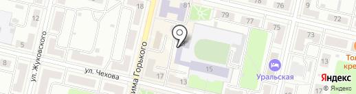 Автошкола на карте Ревды