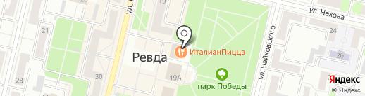 Мята Lounge на карте Ревды