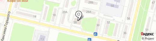 Автотрек на карте Ревды